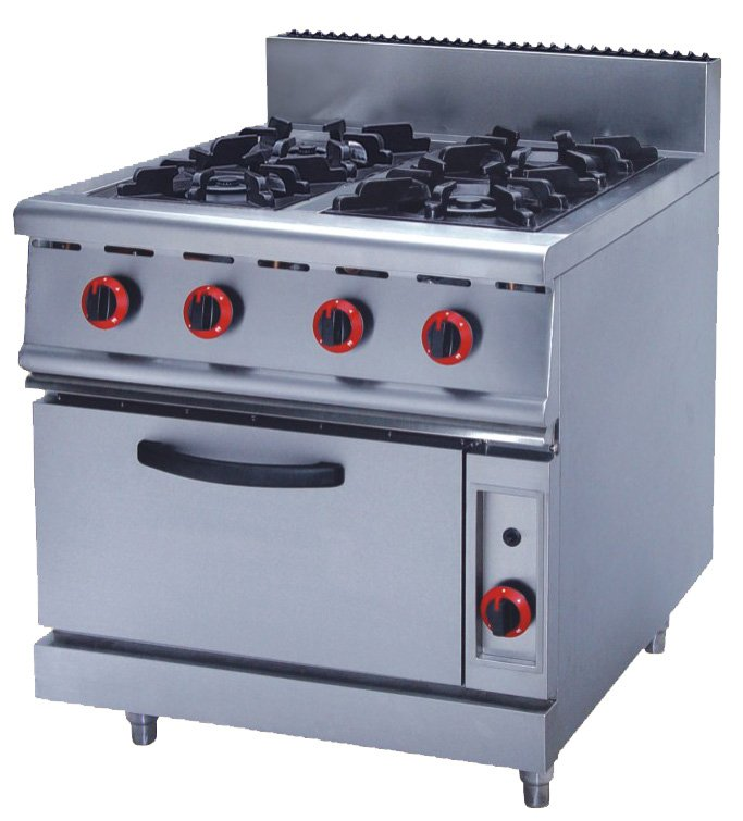 4 burners gas with oven