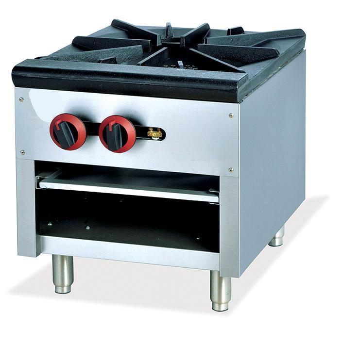 Table top gas burner