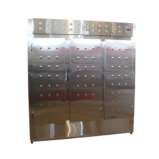 S.S. upright decorated  refrigerator