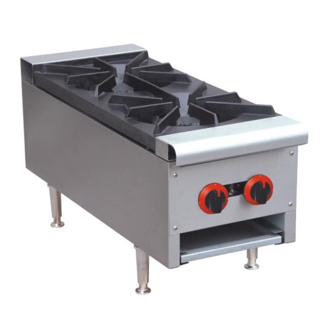 table top 2 gas burners